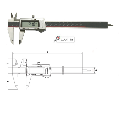 3V Battery Digital Calipers