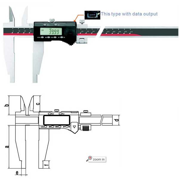 Large Scale Digital Calipers (Max Range: 0-80 inch/2000mm)