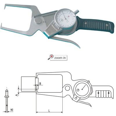 Outside Dial Caliper Gage(Separate Form)