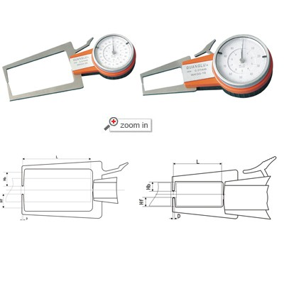 Outside Dial Caliper Gage(Whole From)